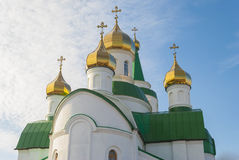 Domes of the church. Stock Photography