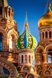 Church of the Savior on Spilled Blood in St. Petersburg, Russia Royalty Free Stock Images
