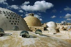 Domes of Citadel. Aleppo (Haleb) Syria. Domes of citadel Stock Photos