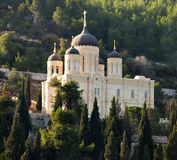 Domes of Convent of Gorny, Jerusalem stock images