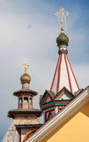 Domes, crosses and towers Stock Photos