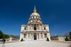 Domes des Invalides Royalty Free Stock Photo