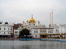 Domes of Golden Temple Amritsar, India Stock Photo