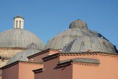 Domes of Haseki Hurrem Sultan Bathhouse (Hamam), Istanbul, Turkey Stock Images