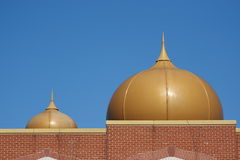 Domes on a Hindu Temple Royalty Free Stock Images