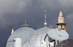 Domes of the Holy Sepulchre Stock Photography
