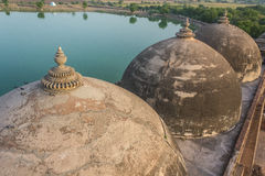 Domes of Khan Mosque Stock Image