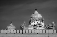 Domes of the Lahore Fort Royalty Free Stock Images