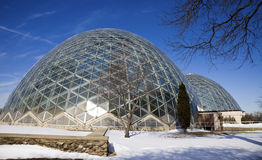 Domes in Milwaukee Royalty Free Stock Photos