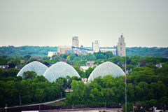 Domes in Milwaukee. Wisconsin, USA Stock Image