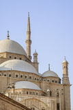 Domes and Minarets in Cairo. Mosque of Muhammad Ali Pasha, Cairo, Egypt Stock Image