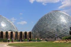 Domes at Mitchell Park Botanical Gardens Stock Photo