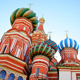 Domes of Moscow Royalty Free Stock Images