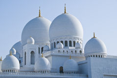 Domes of a Mosque Royalty Free Stock Photo