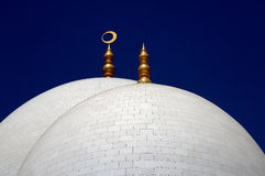 Domes on a Mosque Stock Photos