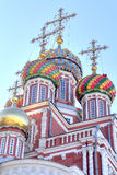 Domes of the Nativity church Stock Photos