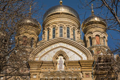 Domes Of Naval Cathedral Royalty Free Stock Photo