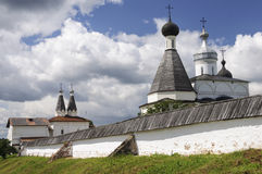 Free Domes Of The Ferapontov Monastery Stock Photo - 64688080