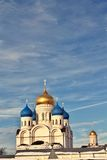 Domes of the orthodox cathedral Royalty Free Stock Image