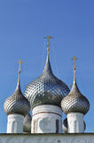 Domes of the Orthodox church Stock Images