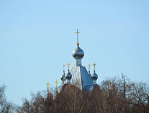 Domes of the Orthodox Church Royalty Free Stock Images