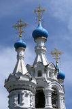 Domes of the Orthodox Church. Moscow Stock Images
