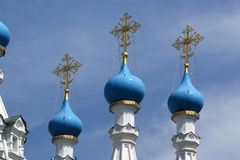 Domes of the Orthodox Church. Moscow, Russia Stock Photography
