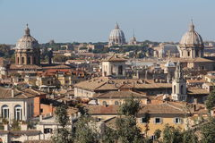 The domes of Rome Stock Photos