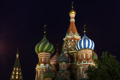 Domes of Saint Basils Cathedral Royalty Free Stock Image