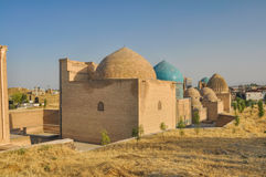 Domes in Samarkand Stock Photography