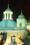 Domes of San Franciso El Grande Church, Madrid Royalty Free Stock Photography