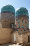 Domes of shakhizinda Royalty Free Stock Photo