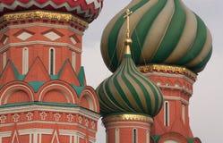 Domes. St. Basil Stock Image