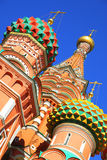 Domes of St. Basil Stock Photography