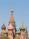Domes of St. Basil's Cathedral Royalty Free Stock Photography