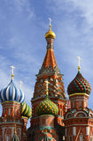 Domes of St. Basil's Cathedral, Moscow Royalty Free Stock Photography
