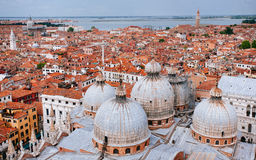 Domes of St. Mark's Basilica, Venice Royalty Free Stock Photography