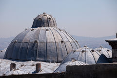 Domes of the Suleymaniye Mosque , Istanbul Stock Photography
