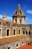 Domes, the symbol of Christianity, in Catania Stock Photography