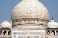Domes of the Taj Mahal, Agra, India Stock Image