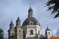 Domes and towers of old church Royalty Free Stock Images