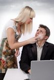 Domestic arguing Royalty Free Stock Photography