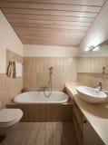 Domestic bathroom Stock Photography
