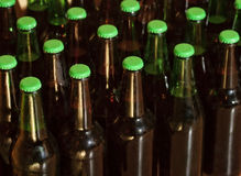 Domestic bottled beer Royalty Free Stock Images