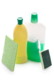 Domestic cleaning products  Stock Image