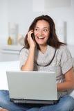 Domestic communications Stock Image