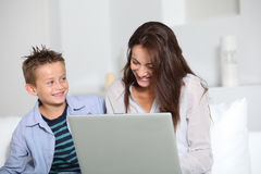 Domestic computing Stock Images