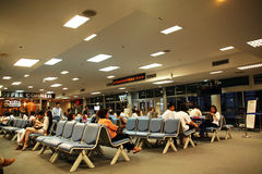 Domestic departure lounge. Chiang mai international airport, Domestic departure lounge area Stock Photography