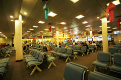 Domestic departure lounge Royalty Free Stock Photo
