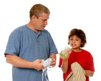 Domestic Dish Cleaning Team Stock Photography